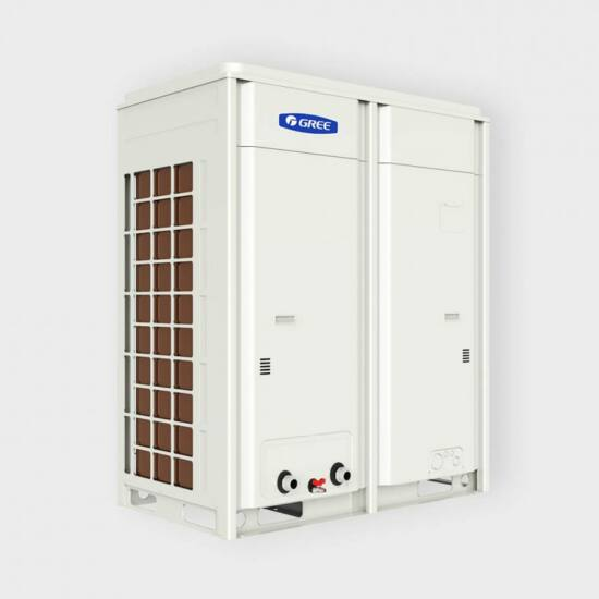 Gree Inverteres kompakt léghűtéses, hőszivattyús moduláris 32 kW kültéri folyadékhűtő
