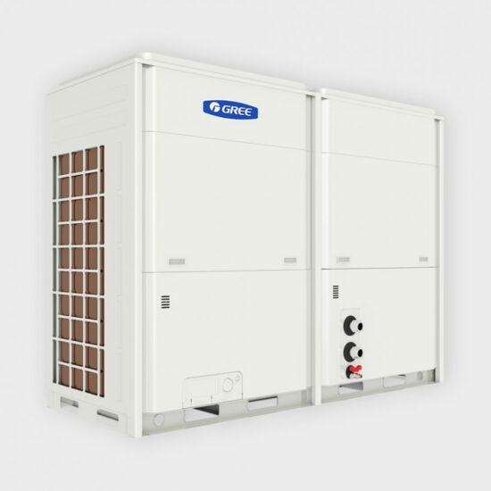 Gree Inverteres kompakt léghűtéses, hőszivattyús moduláris 65 kW kültéri folyadékhűtő