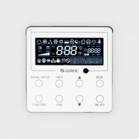 Gree XE70-17/E(M) digitális fali vezérlő kazettás parapetes és magasoldalfali fan-coil-okhoz