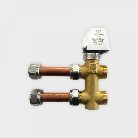 Gree VRK-FP-HA-G3-1/2 háromjáratú szelepkészlet magasoldalfali fan-coil-okhoz